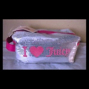 Juicy Couture cosmetic loaf bag w side handle